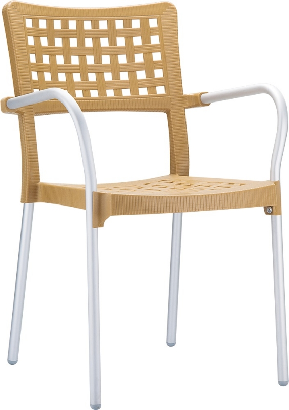 Gala Cafe Chair Brown