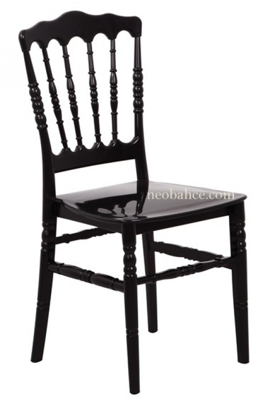 Napolyon Chair Black