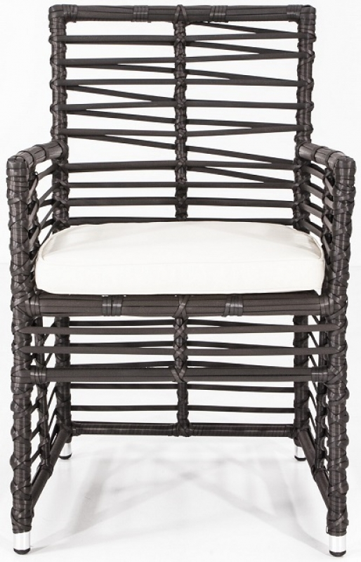 NEO-DS-116 Rattan Arm Chair H. Gray