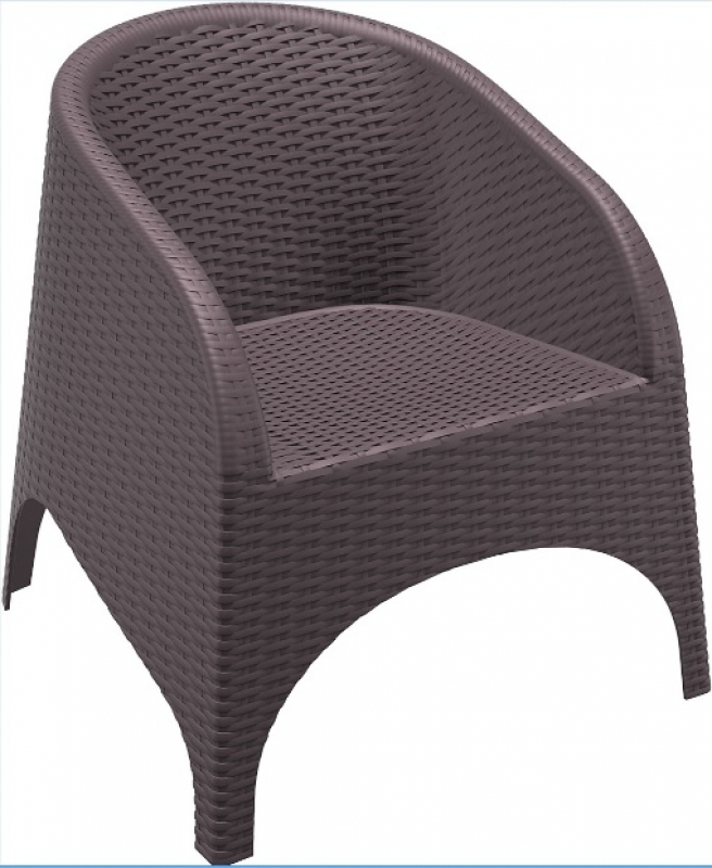 Aruba Rattan-Looking Injection Chair
