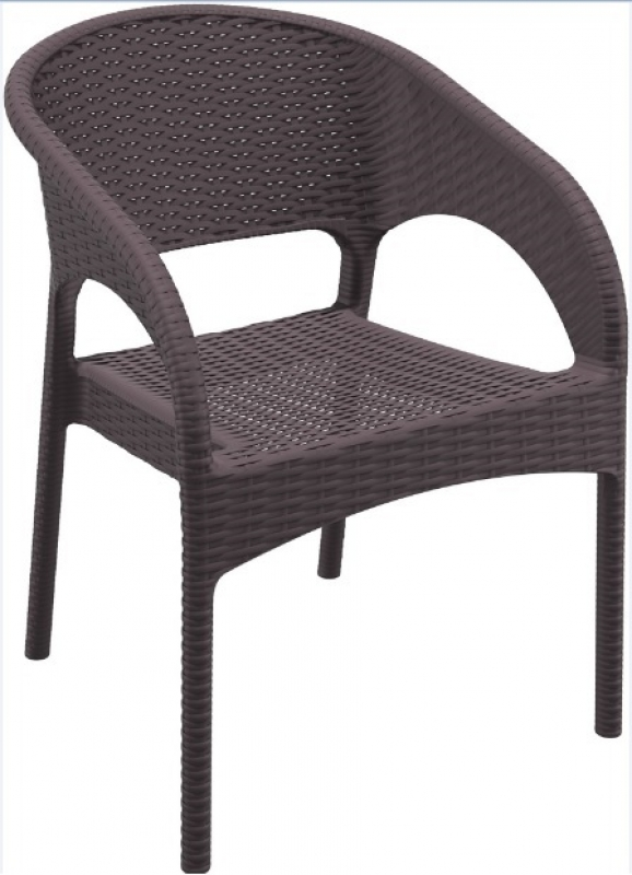 Panama Rattan-Looking Injection Chair