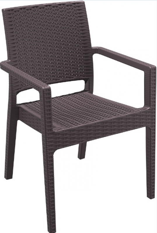 Ibiza Rattan-Looking Injection Chair