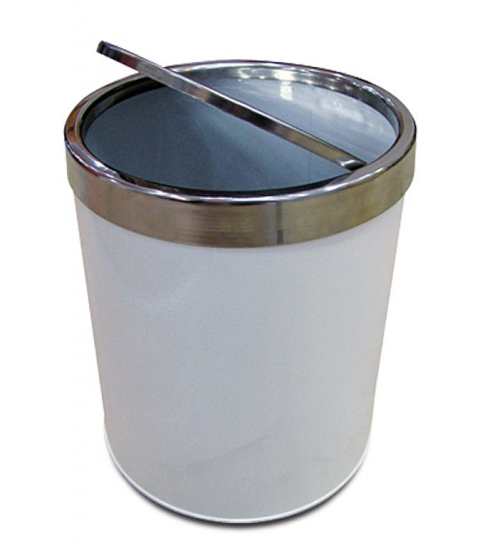 NEO-110KPC Trash Can, Stainless Lid