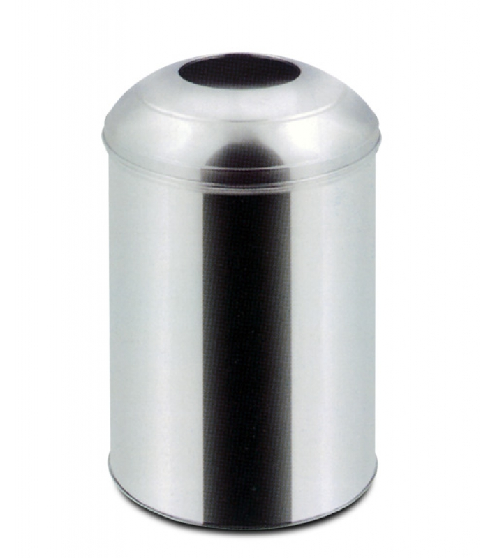 NEO-112SB Stainless Lid Trash Can