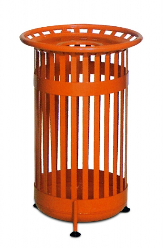 NEO-119 Cage-Shaped Park & Garden Trash Can