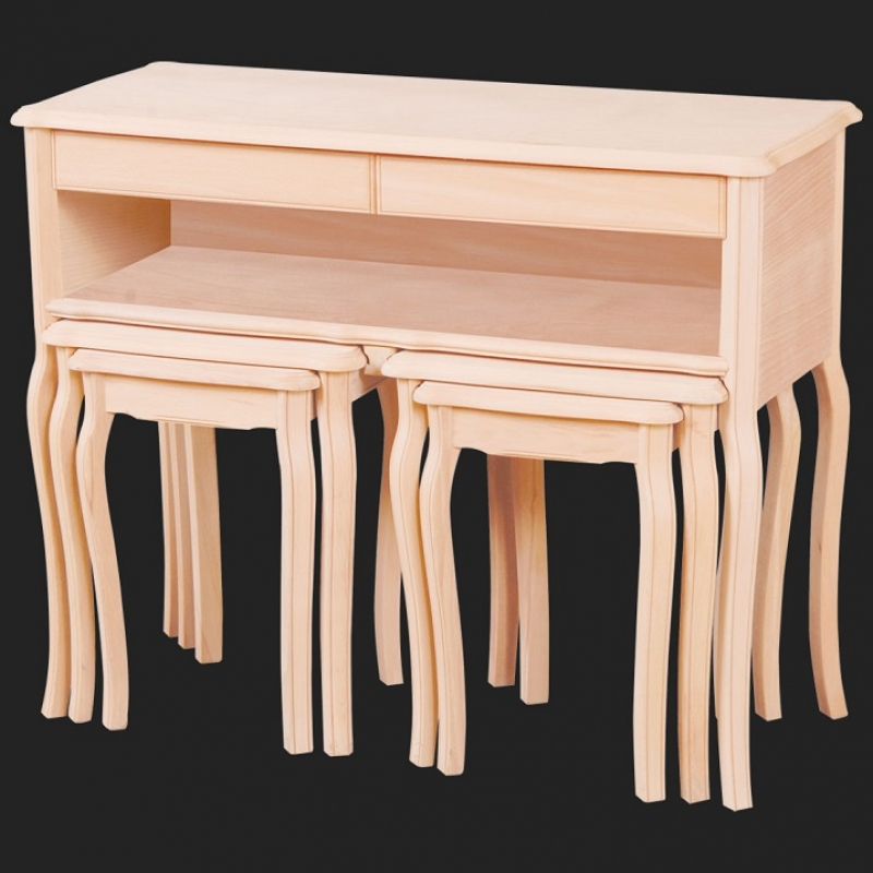 NEO-2110 Twin Sideboard Nesting Table