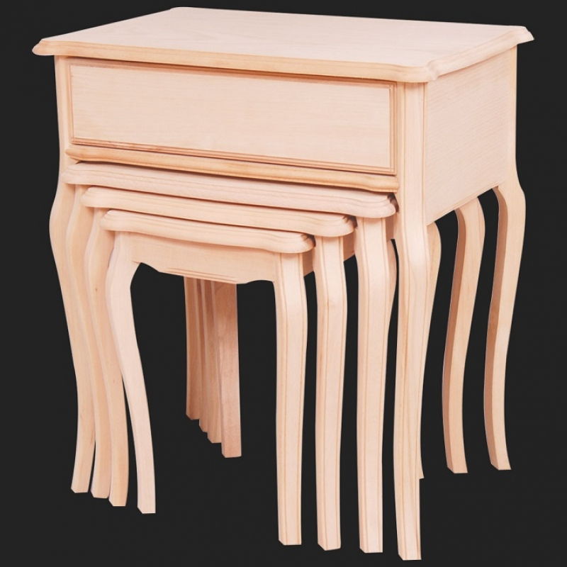 NEO-2112 Nesting Table with Drawer