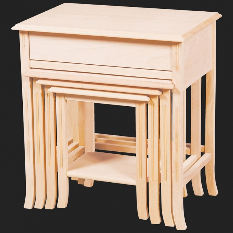 NEO-2113 Nesting Table with Drawer