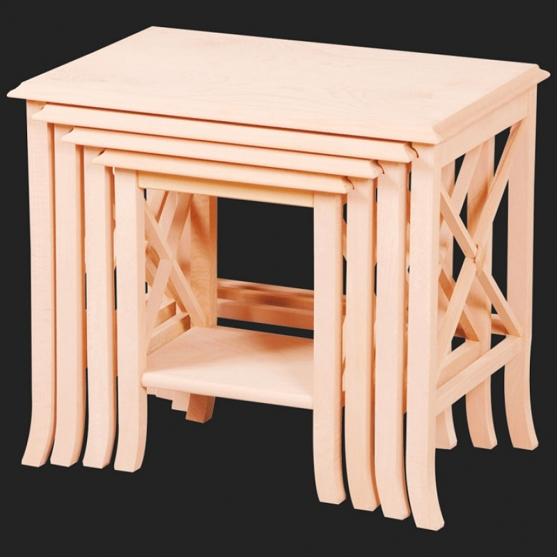 NEO-2145 Tongue-and-groove Nesting Table