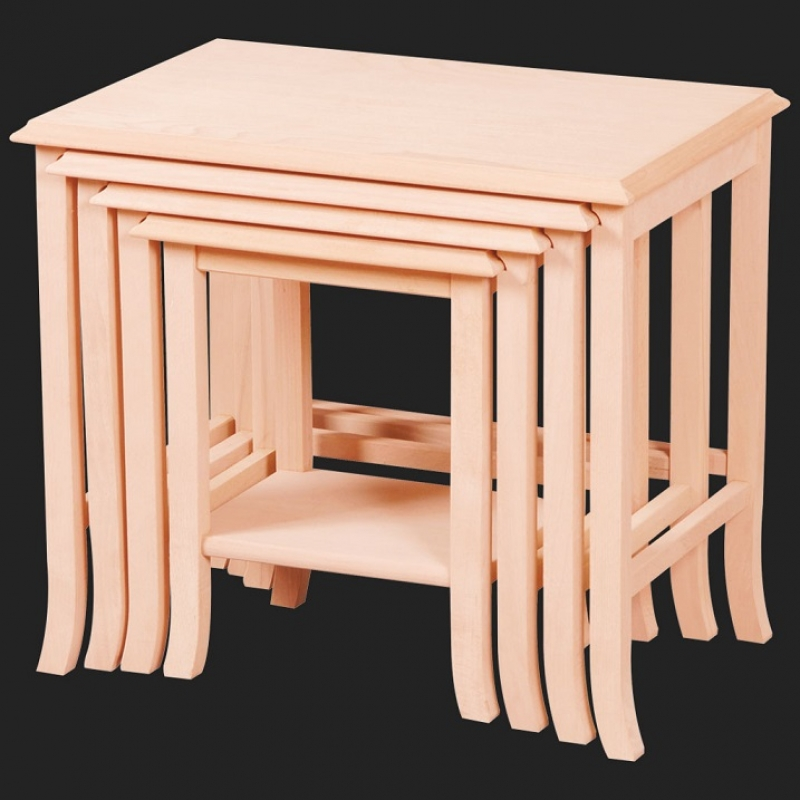 NEO-2146 Nesting Table without Tongue-and-groove