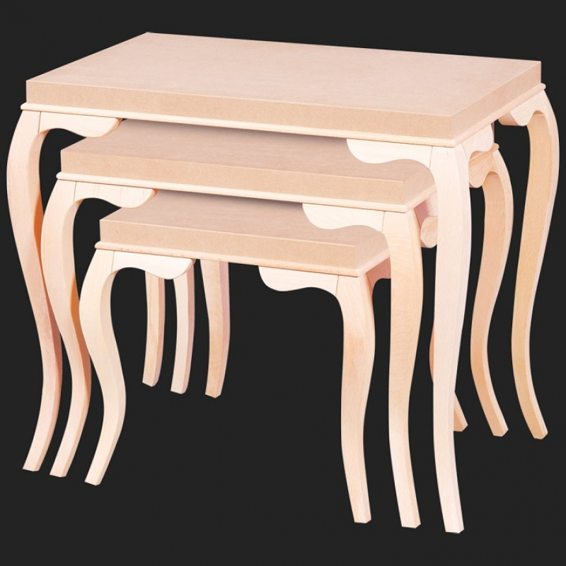 NEO-2155 Nesting Table without Inlaid