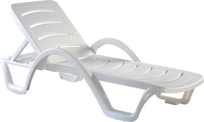 Plastic Sunloungers