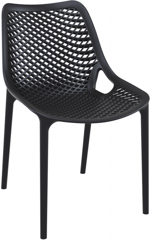 Air Cafe Chair Black