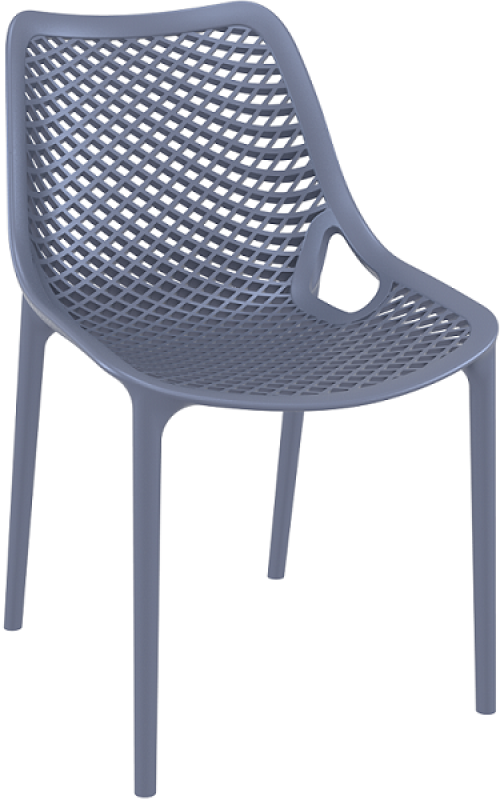 Air Cafe Chair Dark Gray