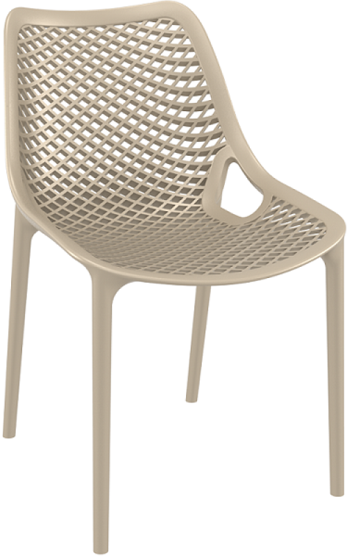Air Cafe Chair Sand Gray