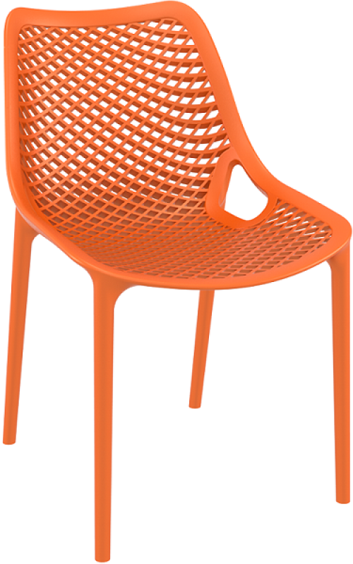 Air Cafe Chair Orange