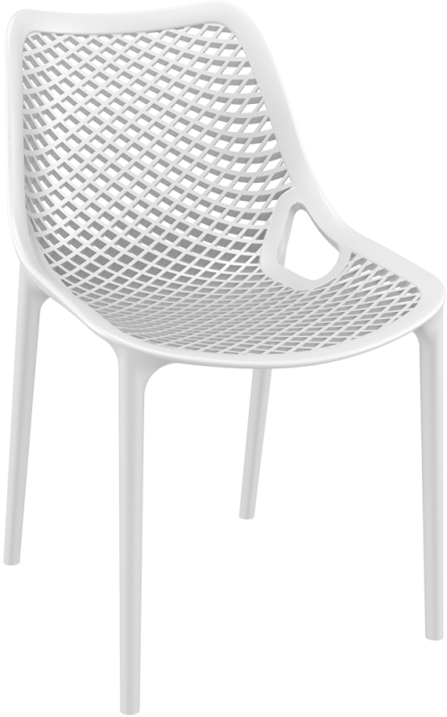 Air Cafe Chair White