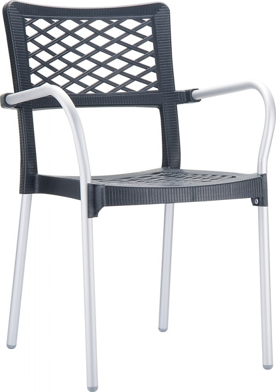 Bella Cafe Chair Anthracite Gray