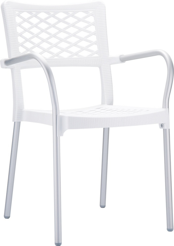 Bella Cafe Chair White