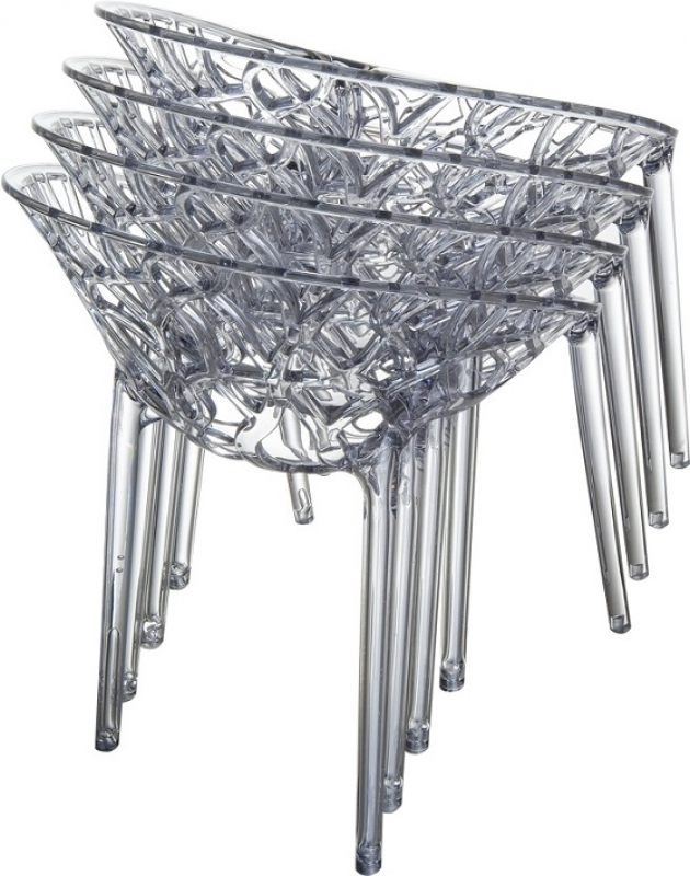 Crystal Cafe Chair Stacking