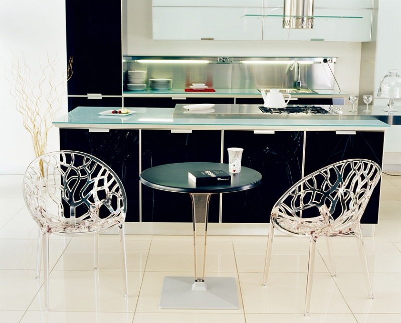 Crystal Cafe Chair and ICE Table