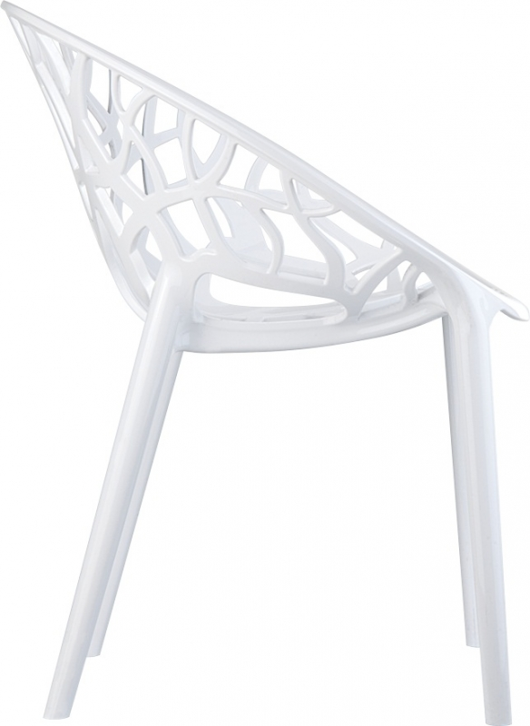 Crystal Cafe Chair Side View