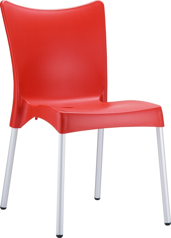 Juliette Cafe Chair Red