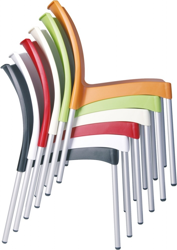 Juliette Cafe Chair Stacking