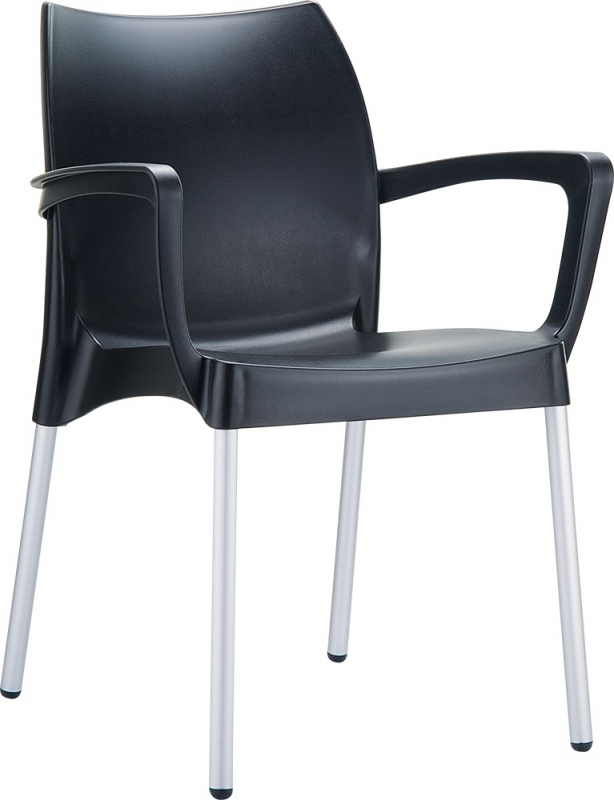 Dolce Cafe Chair Black