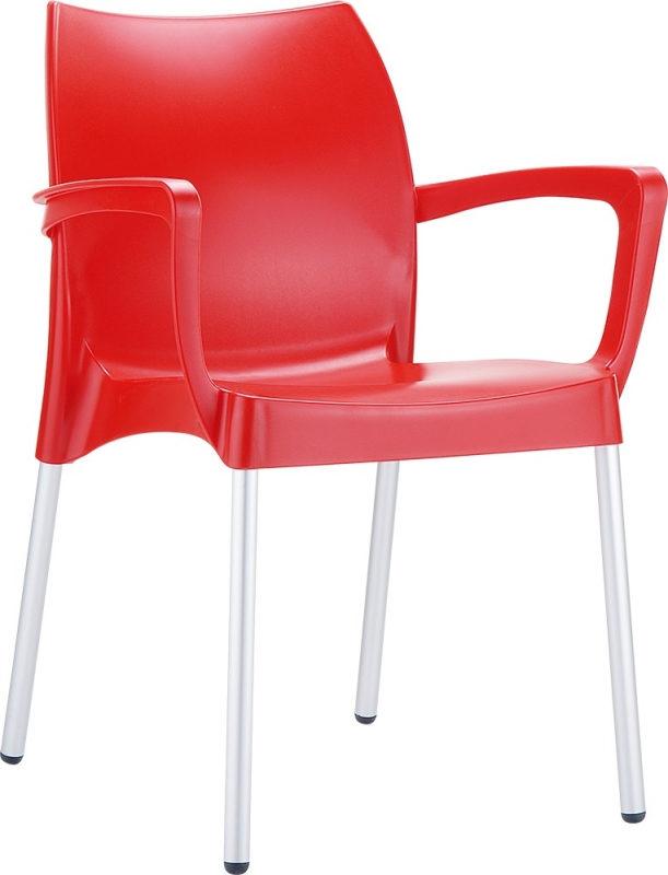Dolce Cafe Chair Red