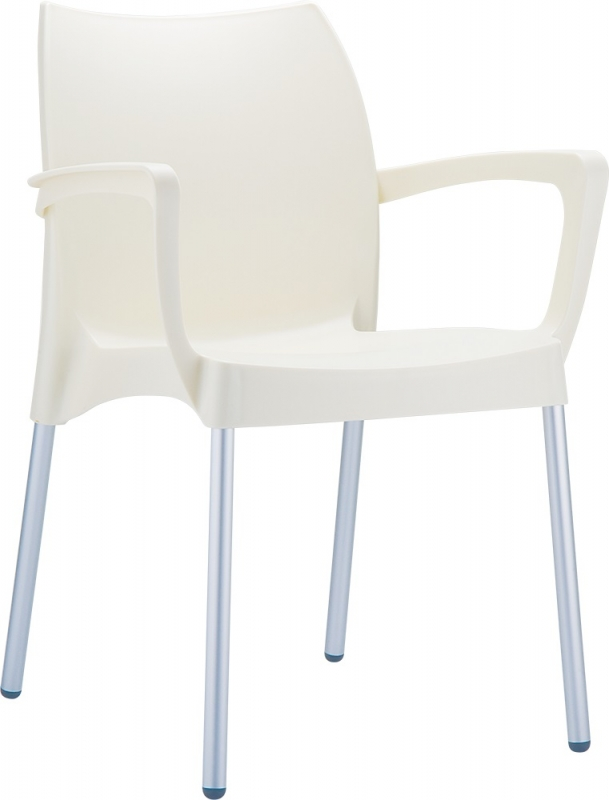 Dolce Cafe Chair Beige