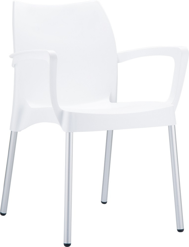Dolce Cafe Chair White