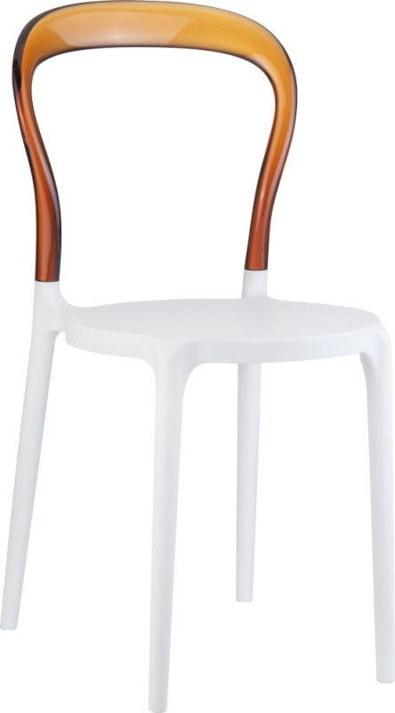 Mrbobo Cafe Chair Chair/Transparent Brown