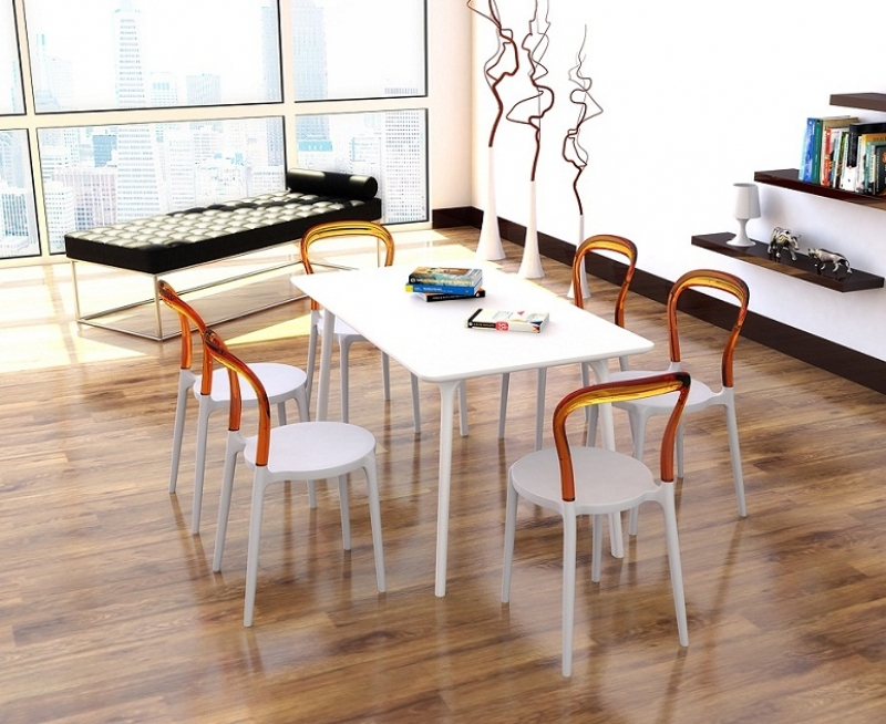 Mrbobo Cafe Chair and Maya 140 Table